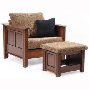 Arlington Chair Ottoman