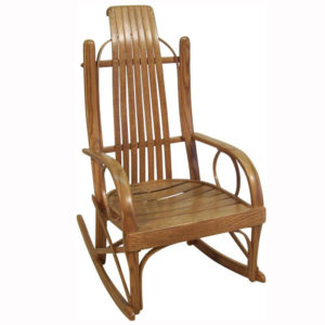 Bent Oak Childs Rocker