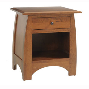 Bordeaux 1 Drawer Nightstand