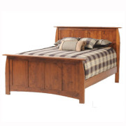 Bordeaux Panel Bed Rustic Cherry