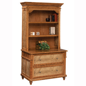 Bridgeport Lateral File Bookshelf