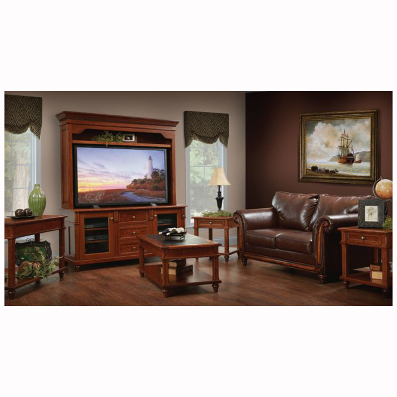 Bridgeport Entertainment Center Home Wood Furniture