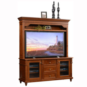 Bridgeport Plasma TV Stand Hutch