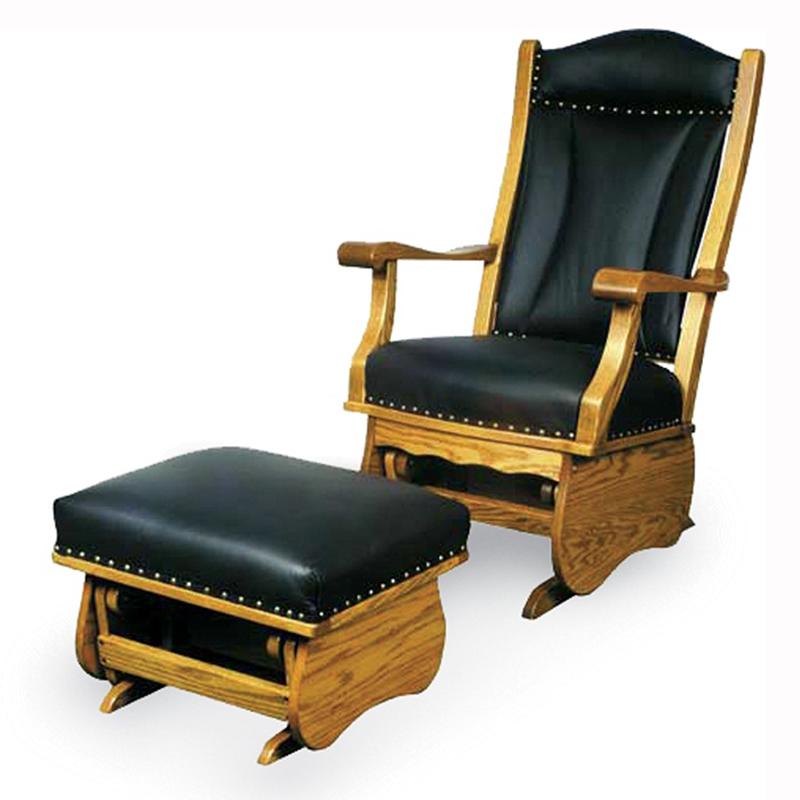Buckeye Swivel Glider Home Wood Furniture