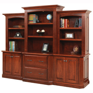 Buckingham Base Three Piece Hutch