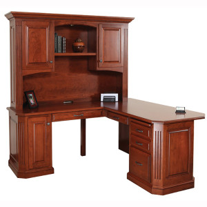 Buckingham Corner Desk Hutch