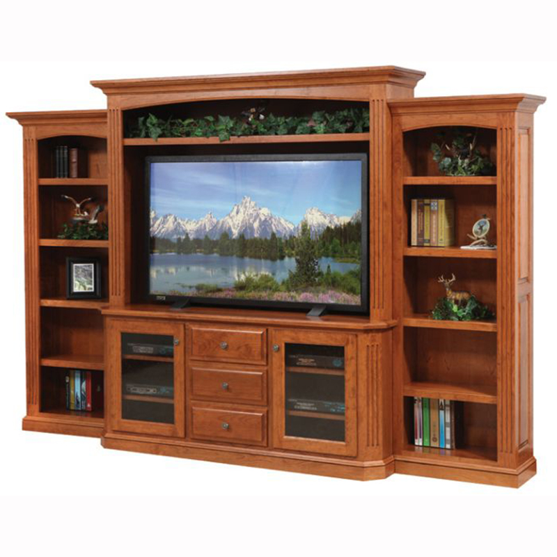 Buckingham Entertainment Center With Fireplace Home Wood