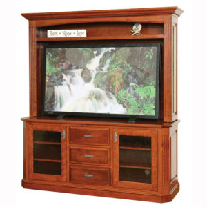 Buckingham Plasma TV Stand Hutch