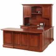 Buckingham U Shaped Desk Hutch