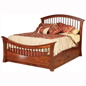 Cabin Creek Rainbow Bed Regular Footboard