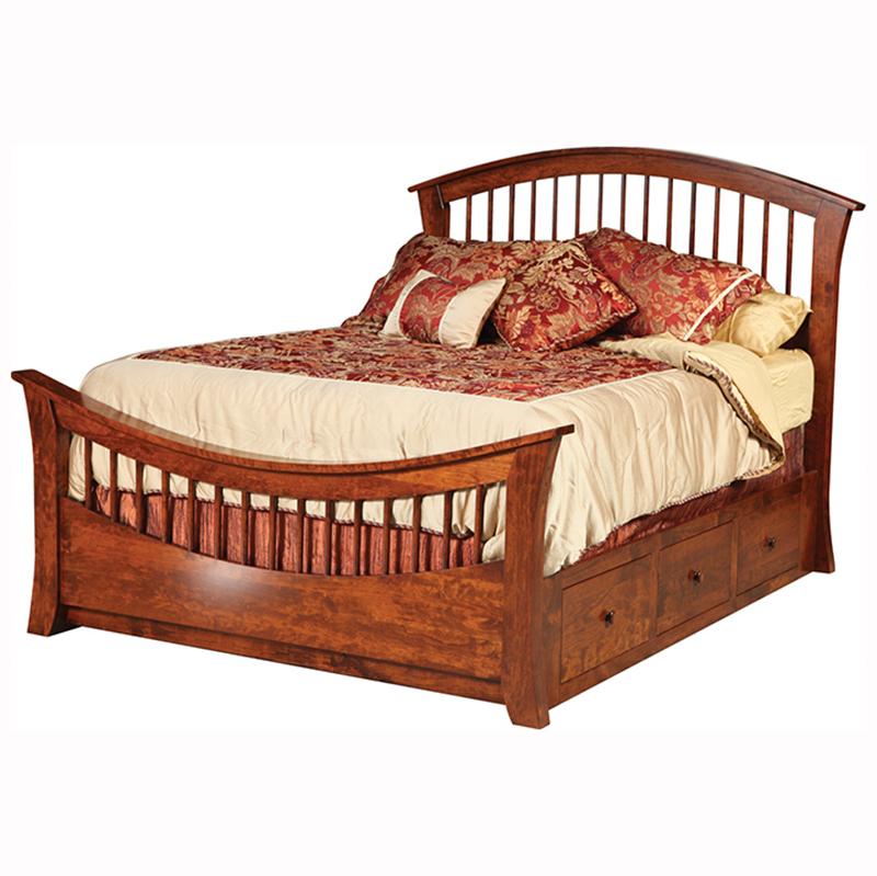 Cabin Creek Rainbow Bed Regular Footboard