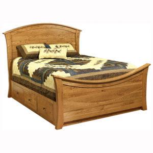 Cabin Creek Rainbow Bed Wood Panel