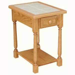 Classic Farmhouse Chairside Table