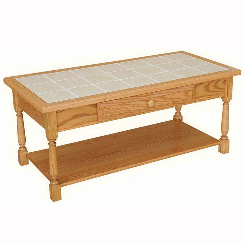 Classic Farmhouse Coffee Table Home Wood Furniture