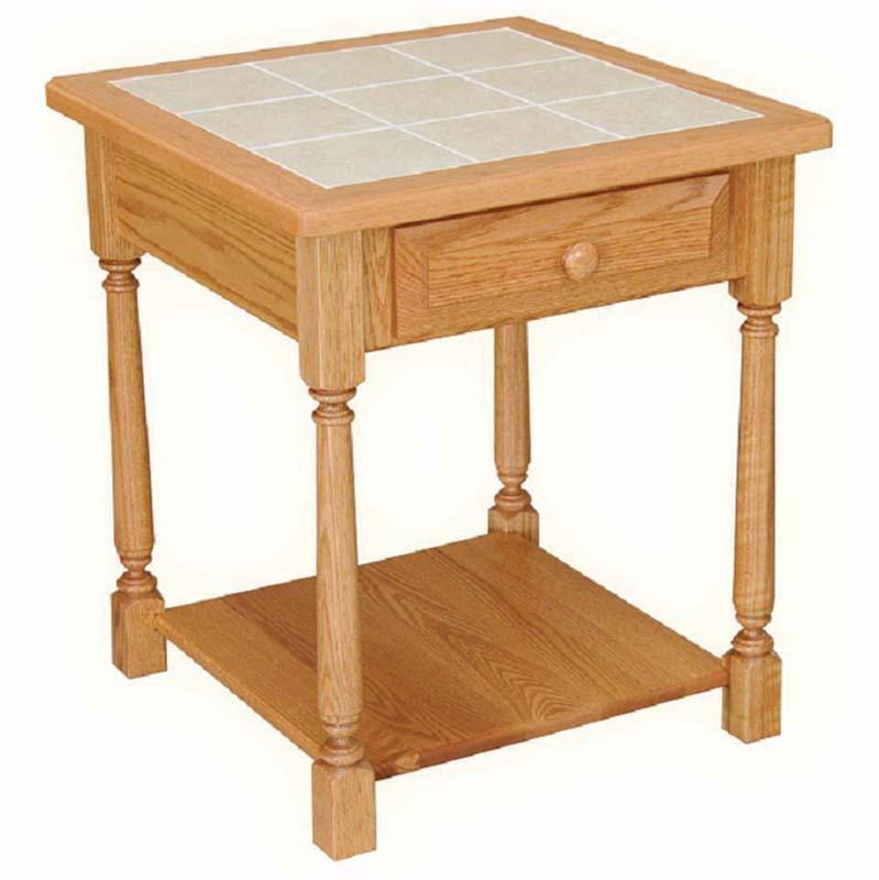 Classic farmhouse sofa table home wood furniture for Farmhouse end table set