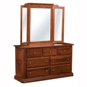Colonial 7 Drawer Dresser