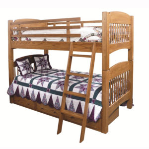 Colonial Twin Twin Bunkbed