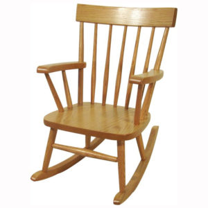 Comb Back Childs Rocker