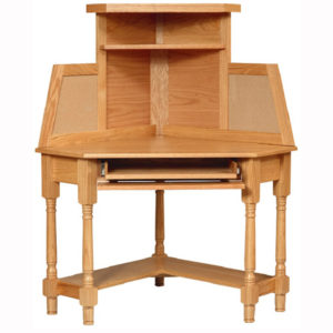 Corner Computer Desk Hutch