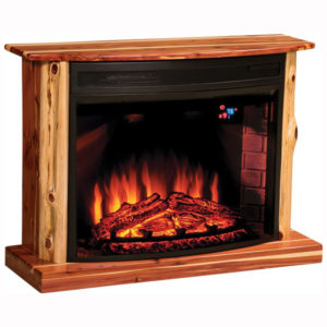 Cozy Glow Cedar Fireplace