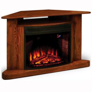 Cozy Glow Corner Fireplace
