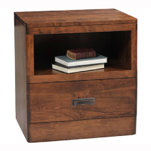 Crossan 1 Drawer Nightstand