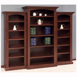 Deluxe Bookcase 3 Piece Set