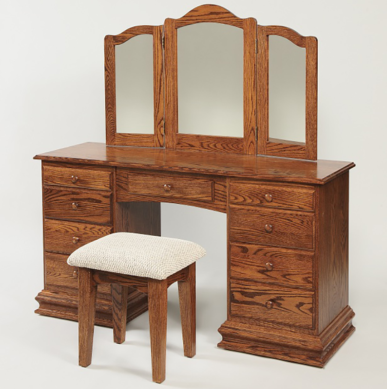Deluxe Dressing Table Home Wood Furniture