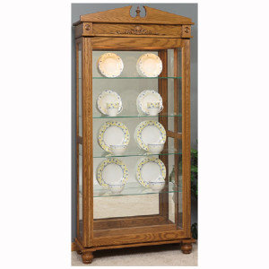 Deluxe Large Sliding Door Curio