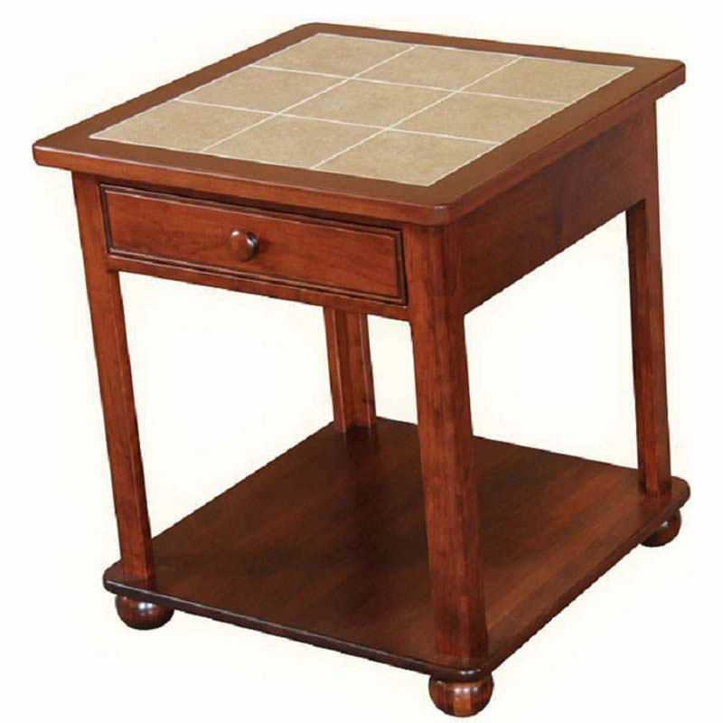Dover Castle End Table Home Wood Furniture