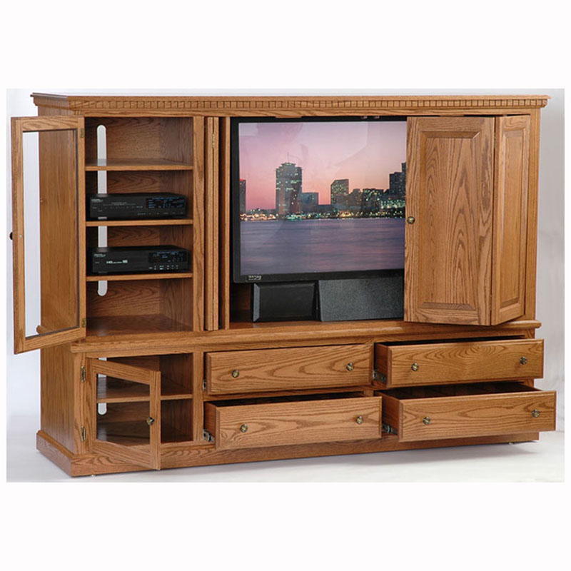 Entertainment center heirwood home wood furniture Wooden entertainment center furniture
