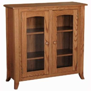 Fairmont Shaker Bookcase Glass Doors