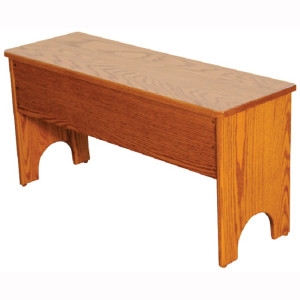 Flip Top Traditional Storage Bench