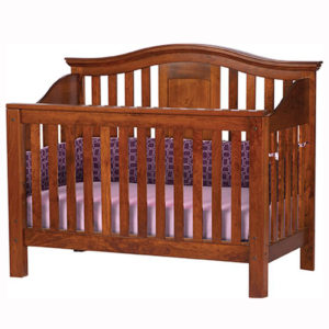 Gabrielle Crib Center Panel Back
