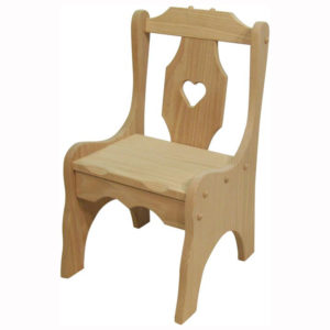 Heart Childs Chair