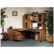 Highland L Desk Hutch