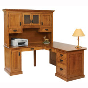 Homestead Corner Desk Hutch