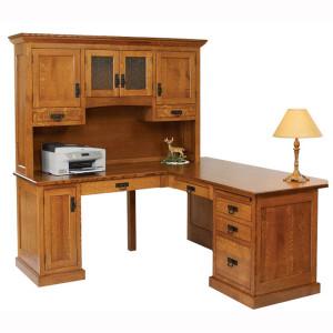 Homestead Corner Desk Hutch