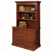 Homestead Lateral File Bookshelf
