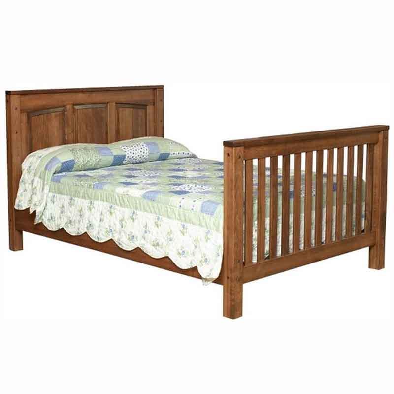 Jackson Crib With Raised Panel Back Home Wood Furniture