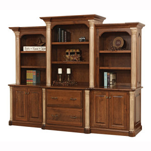 Jefferson Base Three Piece Hutch