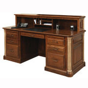 Jefferson Executive Desk Privacy Cubby Panel