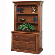Jefferson Lateral File Bookshelf