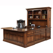 Jefferson U Shaped Desk Hutch