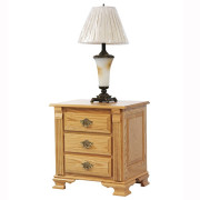 Journeys End 3 Drawer Nightstand