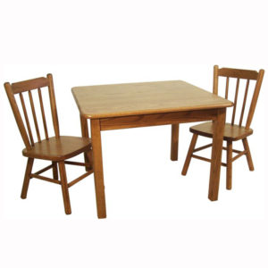 Large Square Childs Table