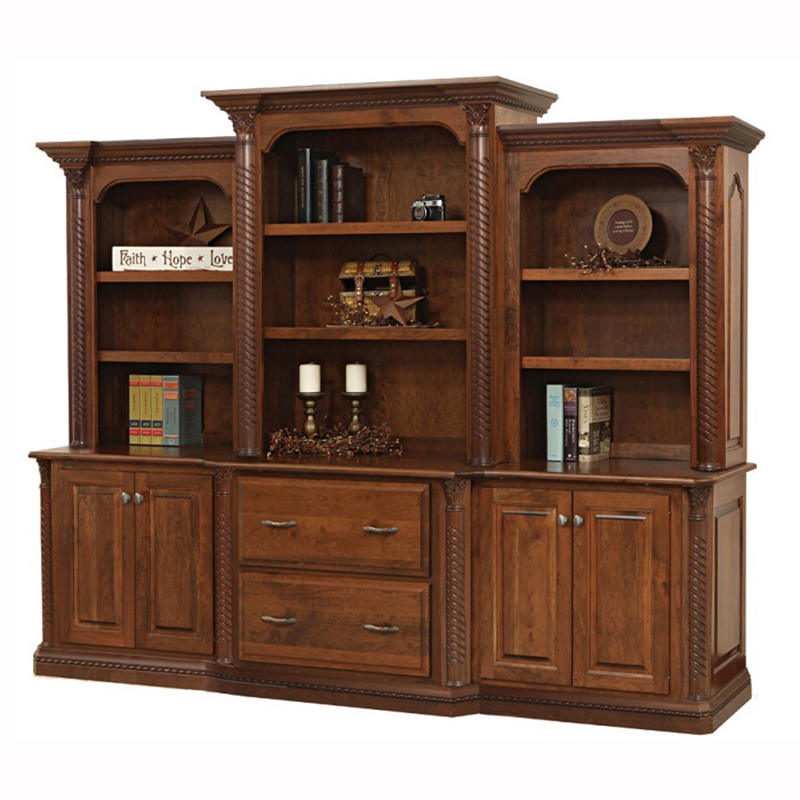 Lexington Base Three Piece Hutch