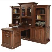 Lexington Partners Desk Three Piece Hutch