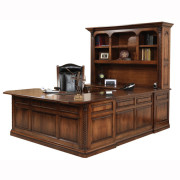 Lexington U Shaped Desk Hutch