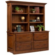Liberty Classic Double Lateral File Bookshelf